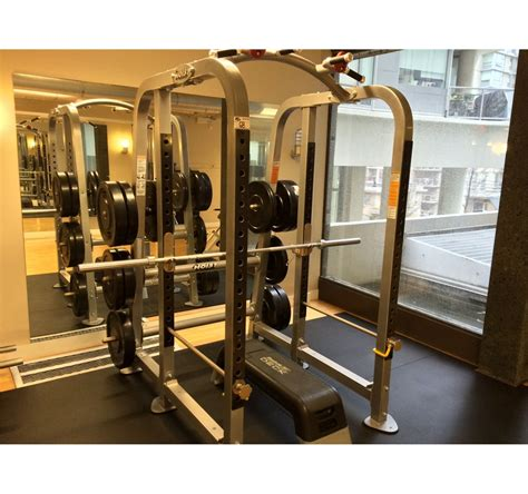 hoist bench press hoist free weight bench press squat station with reebok bench