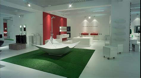 modern creative bathrooms from flaminia