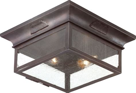 flush mount outdoor lighting fixtures troy lighting ccd9000obz bronze newton 2 light flush