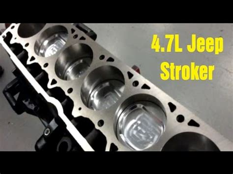 Jeep 4 7 Stroker Kit 4 7l Jeep Stroker Engine From Atk Wrenchin Up