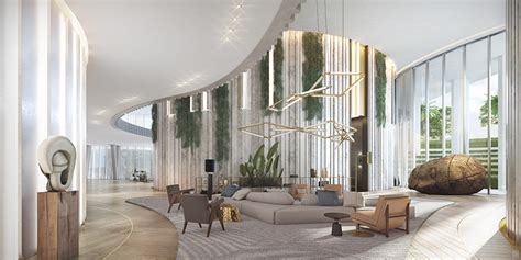 meyer davis one park grove a look inside oma s miami residences