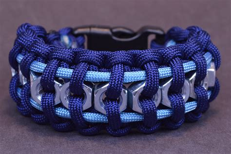 "How to Make the ""Hex Nut"" Paracord Survival Bracelet   BoredParacord   YouTube"