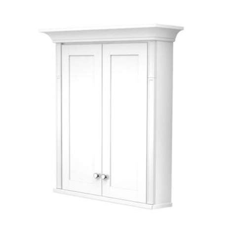 kraftmaid bathroom wall cabinets kraftmaid 27 in w x 30 in h surface mount vanity wall