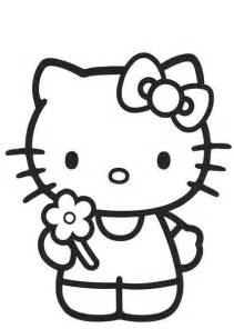 coloring pages fun kitty coloring pages