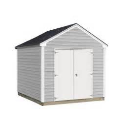 sheds usa 8 ft x 10 ft installed vinyl valu u plus