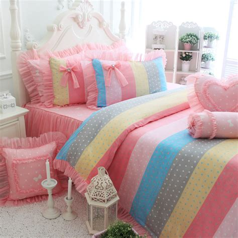 cute bed sheets popular pink polka dot comforter buy cheap pink polka dot