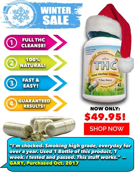 Thc Detox Cleanse by Detox Pills To Pass A Test For Fast Detox