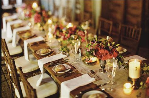 fall wedding table settings autumn wedding color palette brown orange wedding colors