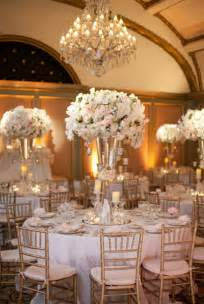 Moon Chair Covers Elegant White And Gold Wedding Reception Tablescapes