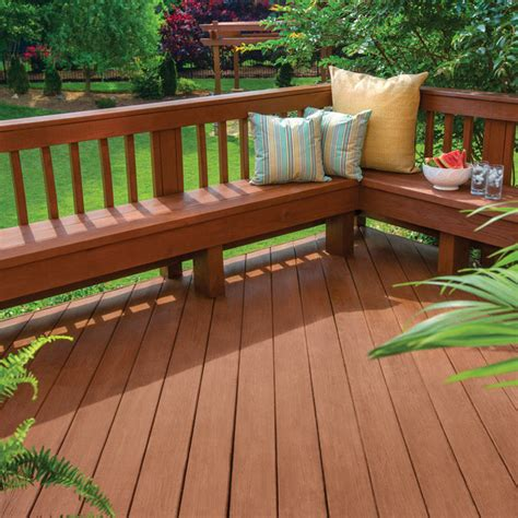 color   stain  deck
