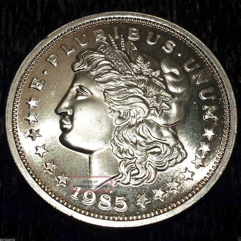 1 Ounce 999 Silver Bar Value - 1985 1 troy oz 999 silver trade unit wtu27