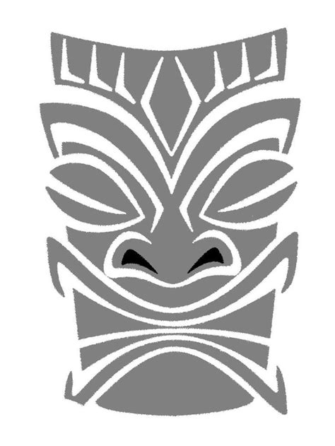 tiki head tattoo designs 10 best tiki heads images on ideas
