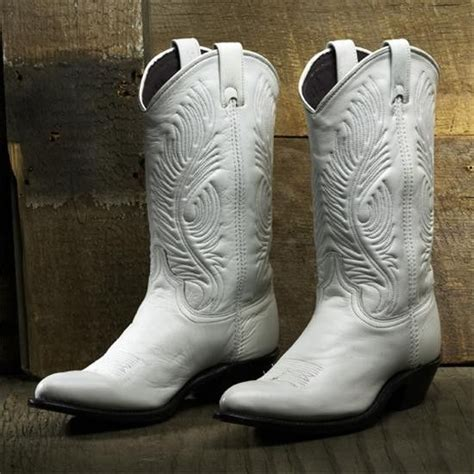 White Wedding Boots by Abilene White Wedding Boots Western Wedding