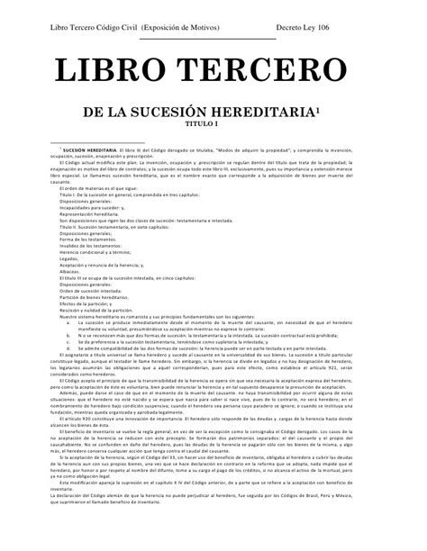 libro here we are notes codigo civil libro iii con exposici 243 n motivos
