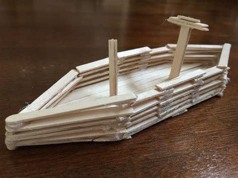 stik boats used making a boat with popsicle sticks kids craft ice cream
