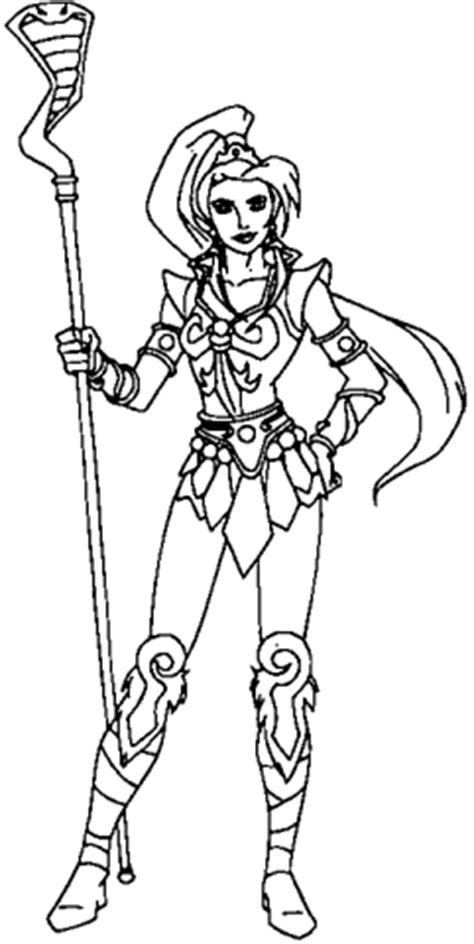 She-Ra para imprimir e colorir - Desenhos Para Colorir
