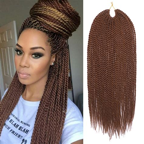 different styles to pack with kinkin braids afro kinky curly twist braid hair 18 quot 30roots pack brown