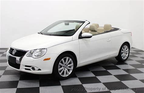 Volkswagen Eos Komfort by 2009 Used Volkswagen Eos Komfort 2 0t Turbo Convertible At
