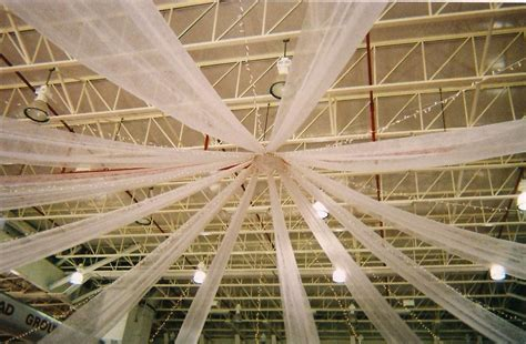 Gossamer Ceiling Decoration by Decorating Ceilings With Fabric Quotes