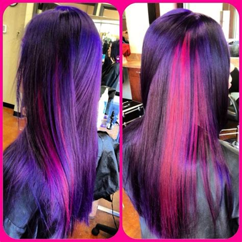 pravana purple hair dye pictures the gallery for gt pravana wild orchid and magenta