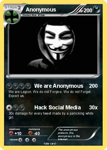 card anonymous pok 233 mon anonymous 139 139 we are anonymous my card