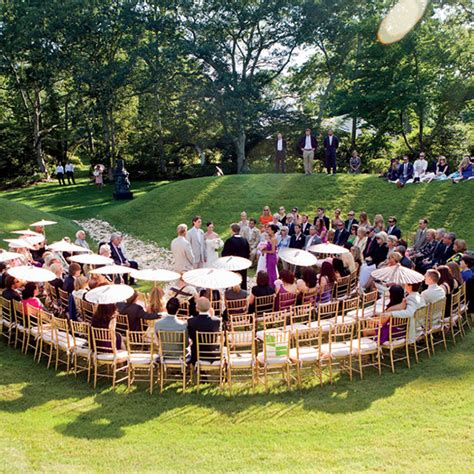 layout outdoor wedding wedding ceremony seating ideas confetti co uk