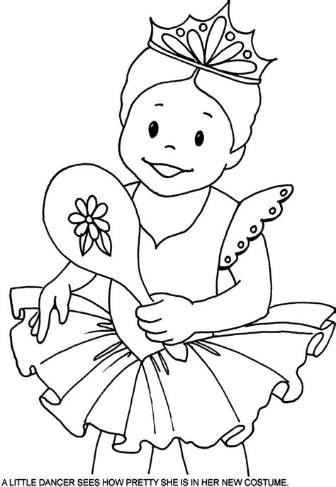 nutcracker ballet pages coloring pages