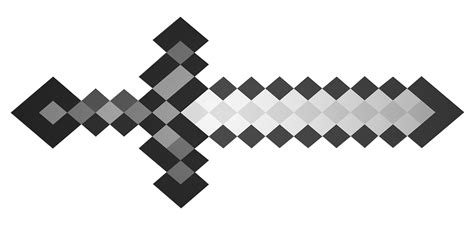 Sword Print Poster High Quality minecraft coloring pages sword high quality