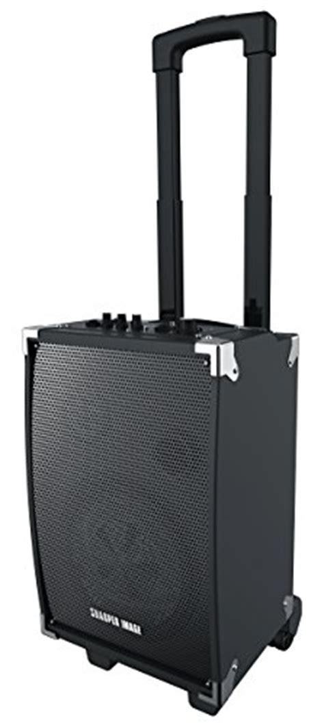 sharper image speaker sharper image sbt1008 bluetooth wireless tailgate speaker