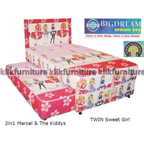 Bed Comforta Sweet bigdream bed anak sweet marcel harga