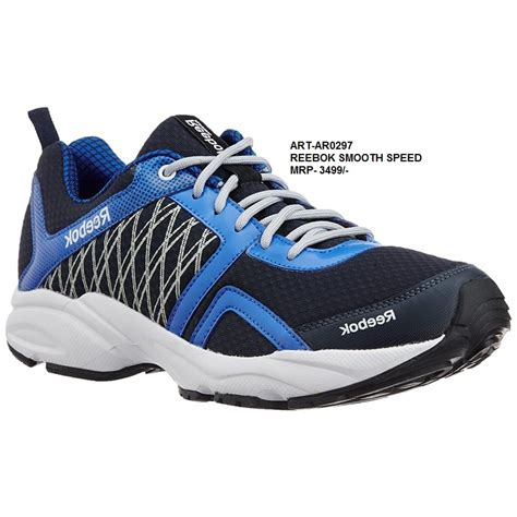 speed sports shoes reebok smooth speed sports shoes blue