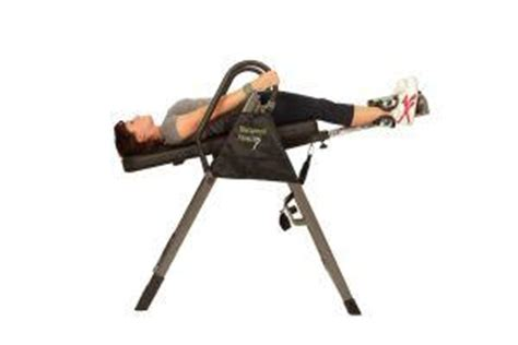 inversion table therapy routine inversion therapy help back an inversion
