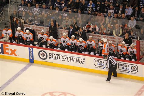 flyers bench philadelphia flyers post game audio illegal curve hockey