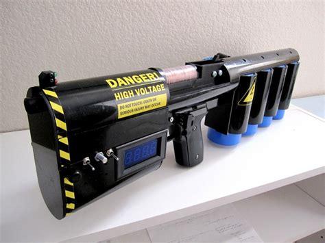 capacitor laser gun 1 25kj coilgun hacked gadgets diy tech