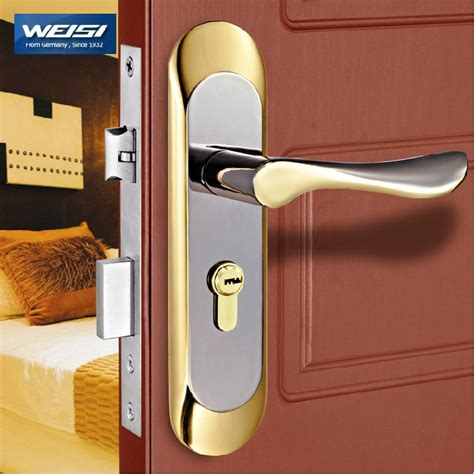 How To Open A Locked Interior Door Aliexpress Buy 2 Pieces Door Lock Interior Door Locks European Style Bedroom Solid Wood