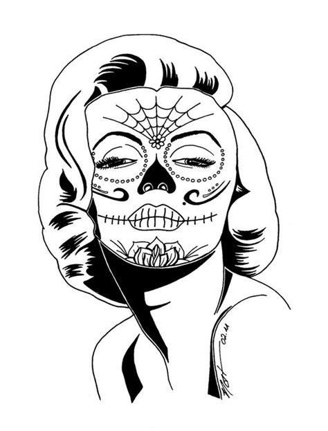 imagenes de calaveras faciles para dibujar imagenes catrinas calaveras mexicanas colorear 11 catrinas10