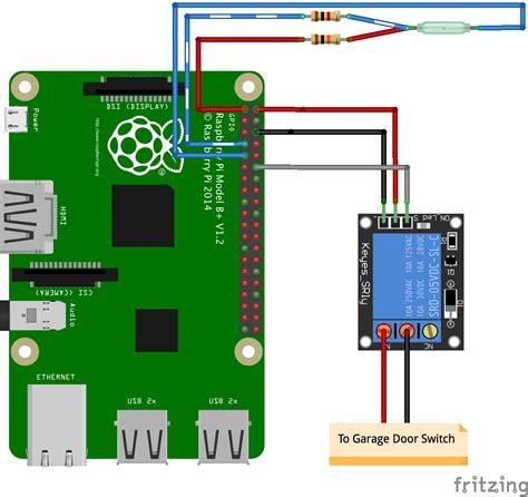 Garage Door Opener Using Raspberry Pi Github Simianhacker Rpi Garage Door A Raspberry Pi