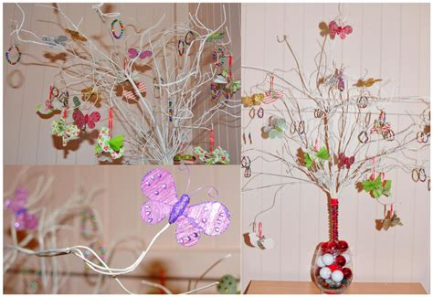 the tree handmade decorations be a