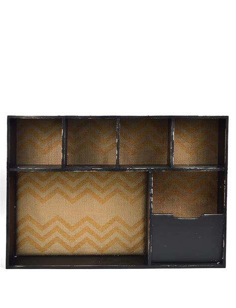 Shelf With Compartment by Concepts In Time 6 Compartment Wall Shelf Stage Stores