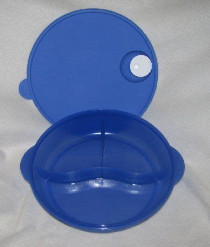 Insulated Server Saucier 500 Ml Tupperware tupperware crystalwave divided lunch dish new lupine blue
