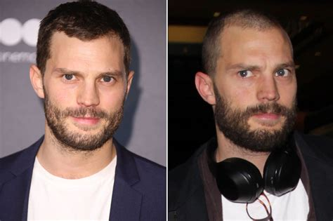 christian grey shaves anas pubic hairs jamie dornan shaved his head