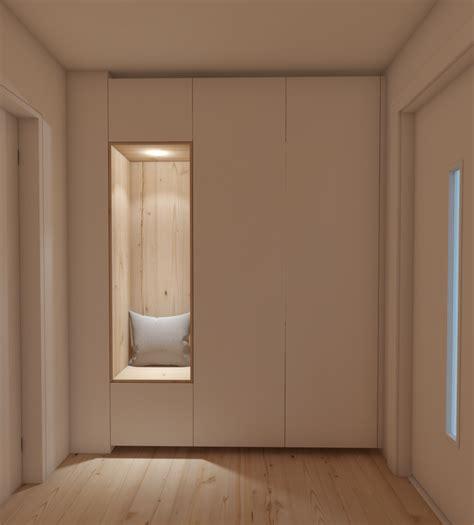 wandschrank rund build in wardrobe einbauschrank japen style