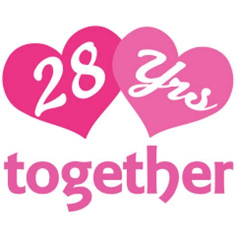 28th Anniversary Hearts Gift Ideas   Still In Love