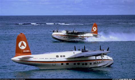 qantas flying boat photos short s 25 sandringham 4 ansett flying boat services
