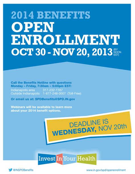 open enrollment flyer template spd open enrollment booklet