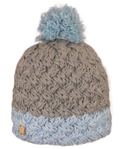 Bonnet Avec Des Bonnet Gros Tricot Gris Et Bleu Avec Pompon Www Chau7 Fr