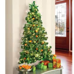 wall hanging pre lit christmas tree the green head