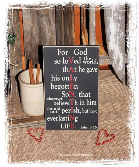 christian home decor store for god so loved 3 16 wood sign s day gift decor bible