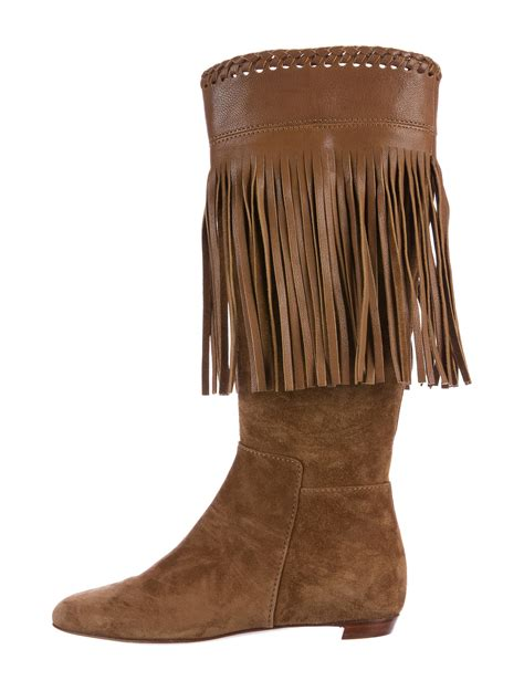 suede boots with fringe sergio fringe suede boots shoes ser25994 the