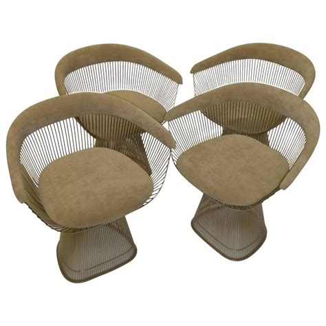 iconic armchairs four iconic warren platner armchairs for knoll at 1stdibs